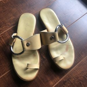 Hogan Leather Sandals